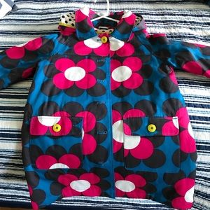 NWOT size 10 Mini Boden mid weight floral jacket